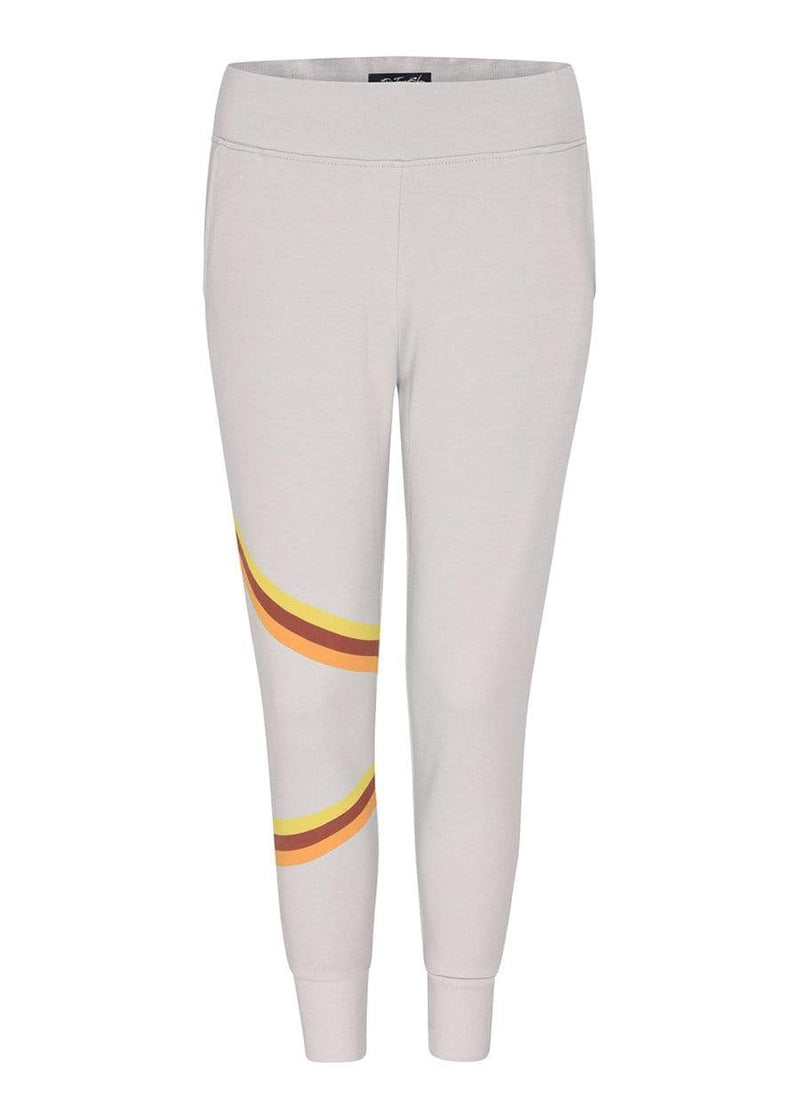 Girls Retro Stripe Sweatpants