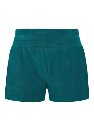 Teenzshop  Girls Teal Terry Shorts