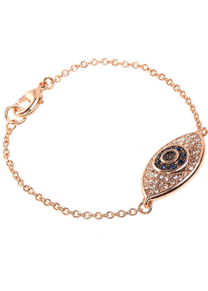 Crystal Evil Eye Bracelet-TeenzShop