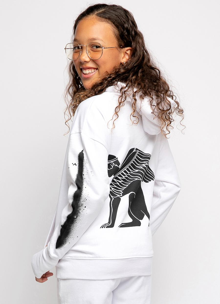 Girls Sphinx Graphic Hoodie
