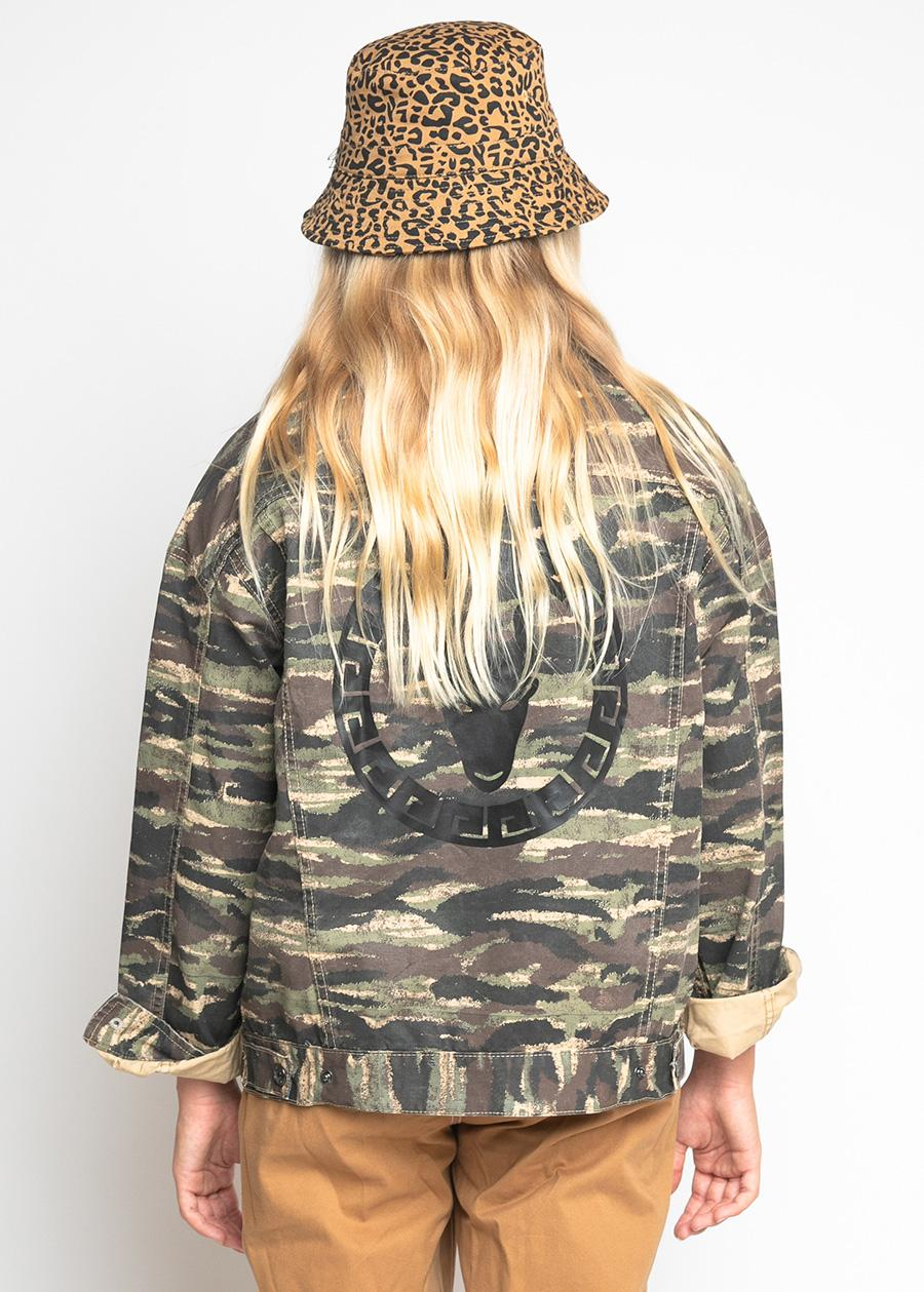 Girls Camo Jacket