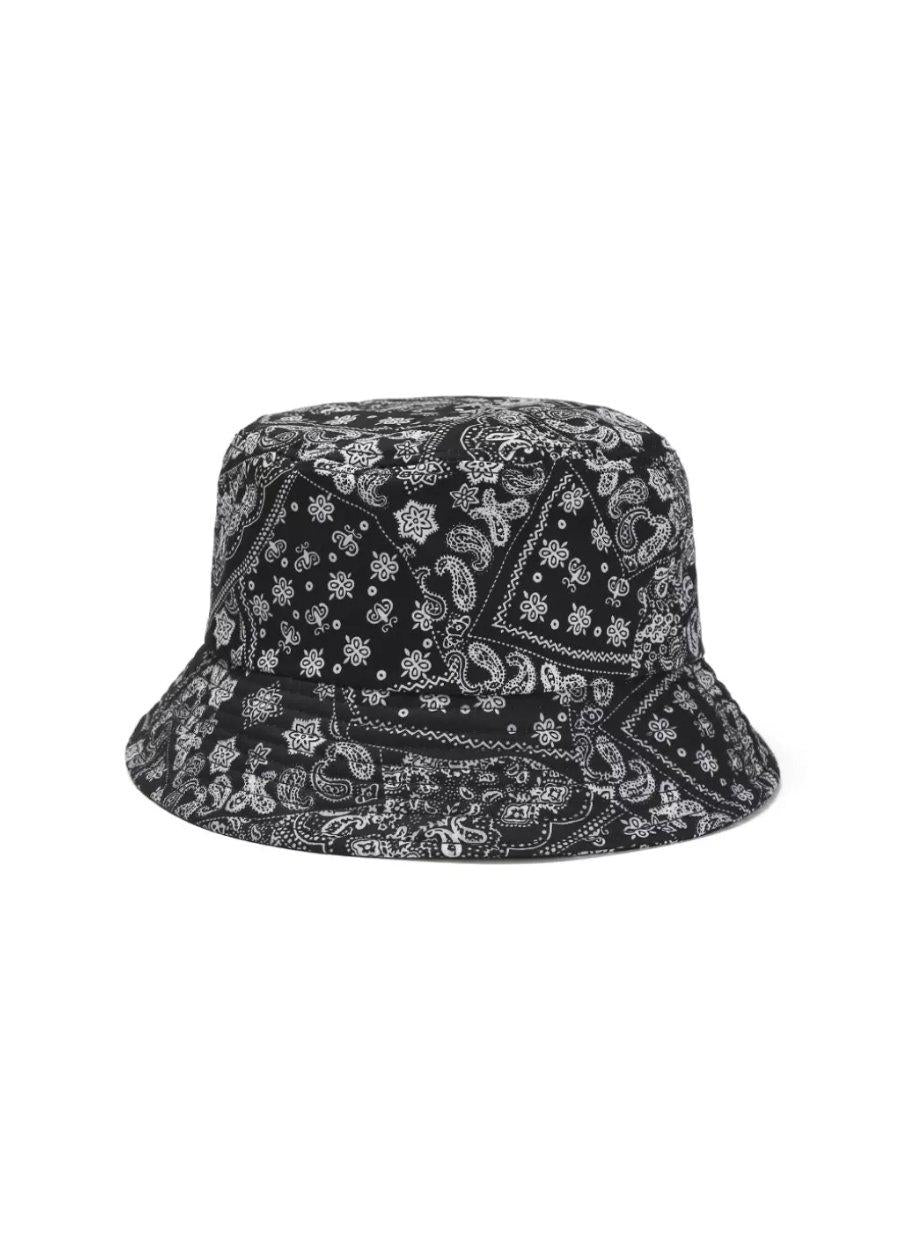 Black Bandana Bucket Hat-TeenzShop