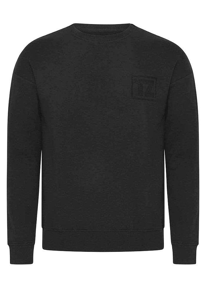Boys Black Logo Sweatshirt