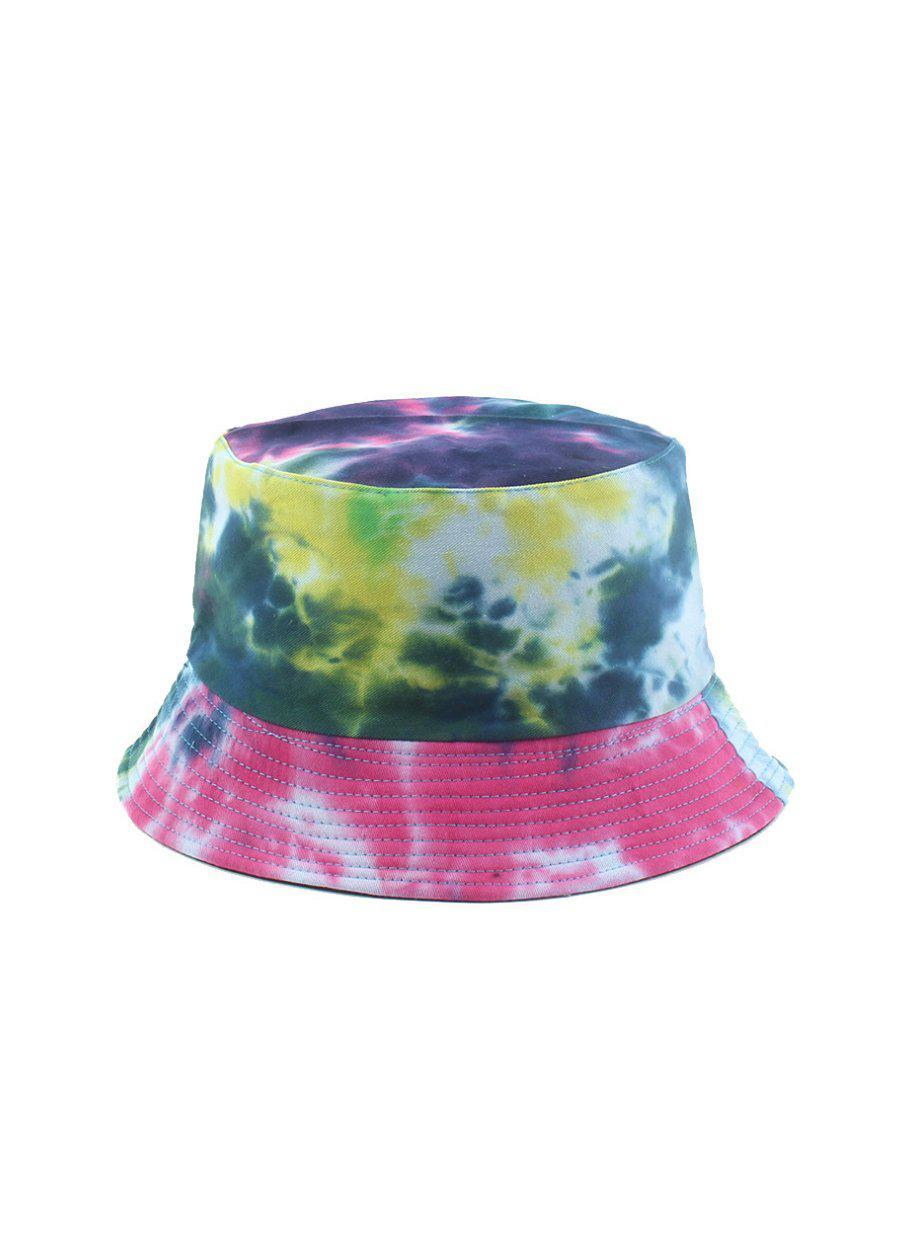 Blue Tie Dye Bucket Hat-TeenzShop