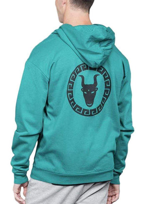 Teenzshop Boys Green Zip-Up Toro Hoodie