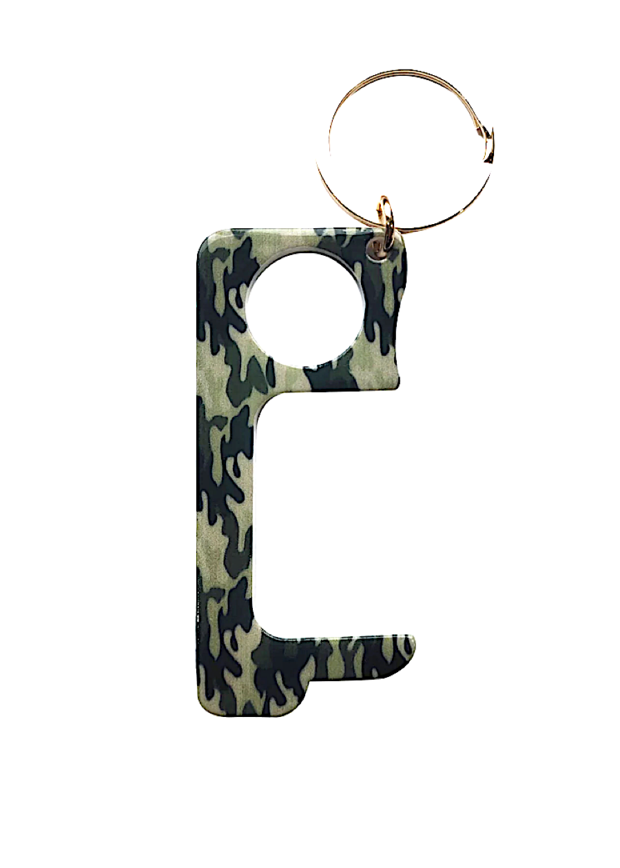 Camo Metal Door Opener - Covid19 Tool-TeenzShop