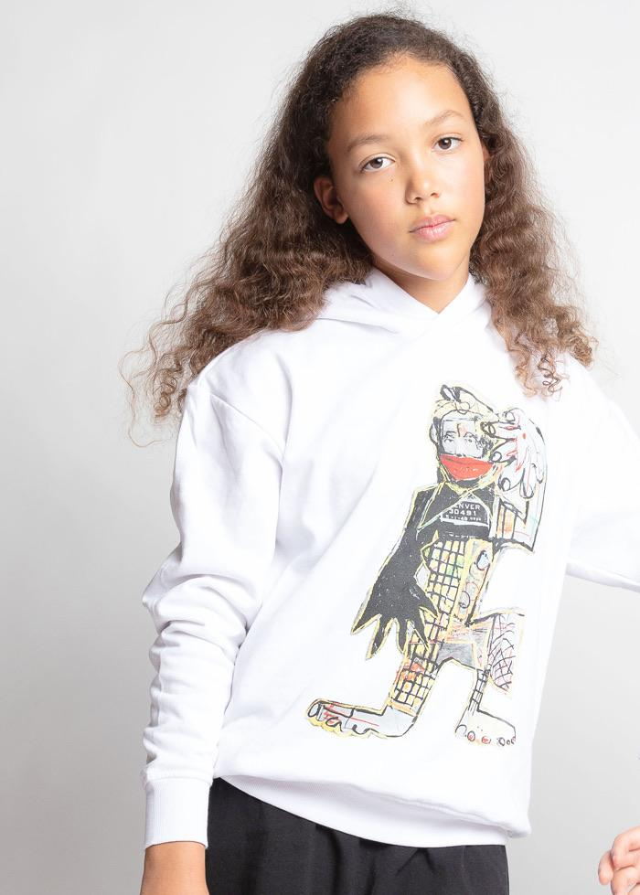Girls David King Artist Hoodie-TeenzShop