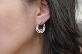 Sterling Silver Teardrop Earrings (4 Colors) - SDG by Grace
