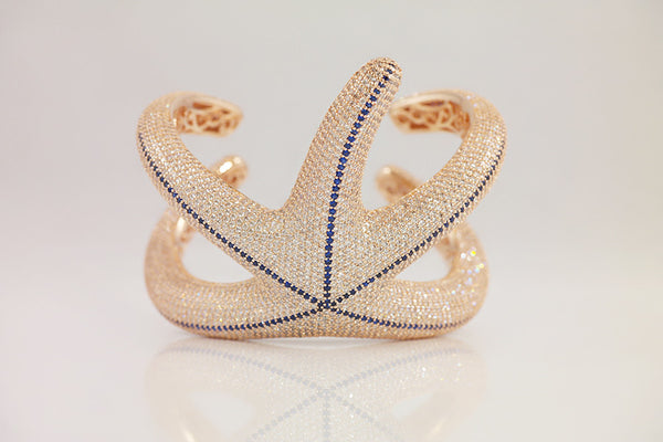 Magnificent Starfish Bangle - SDG by Grace