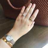 18k Tri-Color Gold Trio Rolling Ring - SDG by Grace