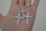 Sterling Silver Basic Cross Necklace - SDG by Grace