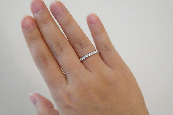 Sterling Silver Eternity Ring, 2.2mm - SDG by Grace