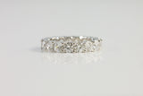 Sterling Silver Brilliant Eternity Ring, 4mm - SDG by Grace