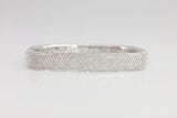 Brass Square Pave Bangle (2 Colors) - SDG by Grace
