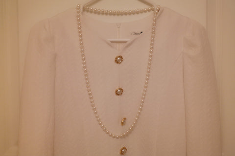Simple Long Pearl Rope Necklace - SDG by Grace