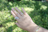 Sterling Silver Flower Bouquet Ring (4 Colors) - SDG by Grace