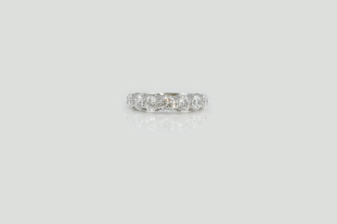 14k White Gold Seven Stone Ring - SDG by Grace