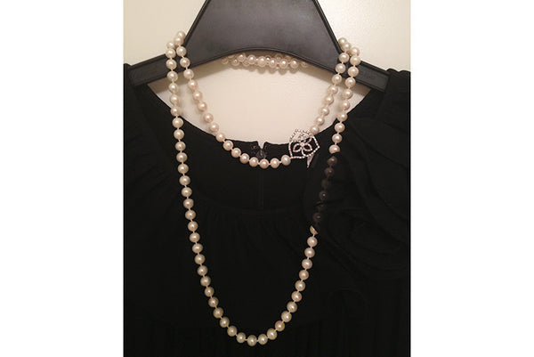 Freshwater Pearl Rope Necklace - SDG by Grace