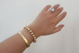 Gold-filled Ball Bracelet, 8mm - SDG by Grace