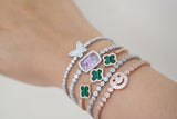 Small Flower Adjustable Tennis Bracelet (2 Colors) - SDG by Grace
