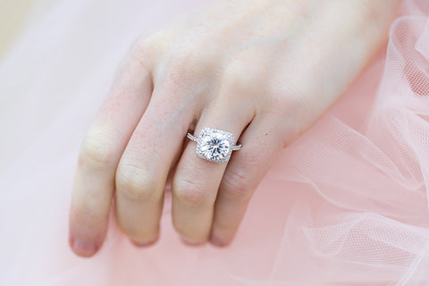 Sterling Silver Bling Ring - SDG by Grace