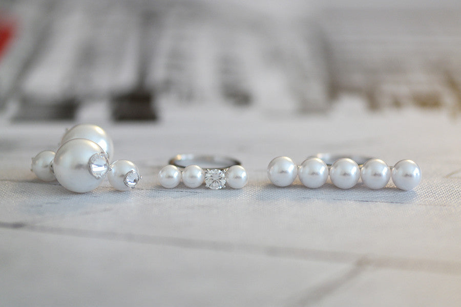 macro silver close white up pearls video black stock clip footage of and shutterstock