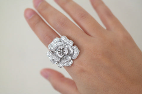 Brass Rose Ring - SDG by Grace