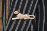 Sterling Silver Panther Brooch - SDG by Grace