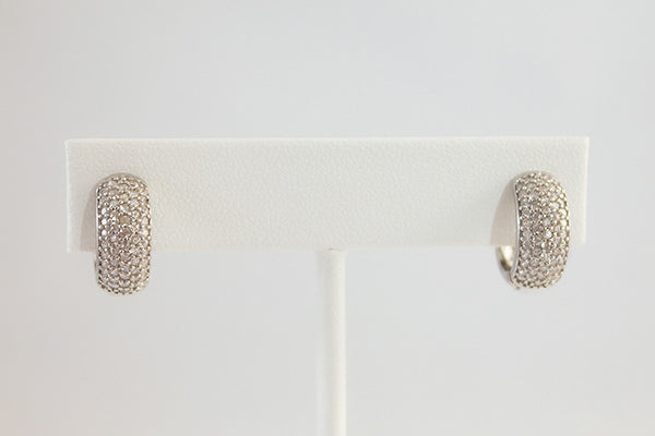Sterling Silver Huggies Earrings - SDG by Grace