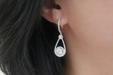 Sterling Silver Brilliant Earrings (4 Colors) - SDG by Grace