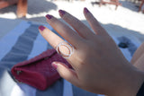 Sterling Silver Fashion Logo Ring, Version 3 - SDG by Grace