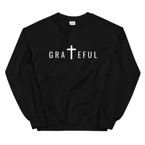 Grateful Sweatshirt (Dark Colors) | Unisex