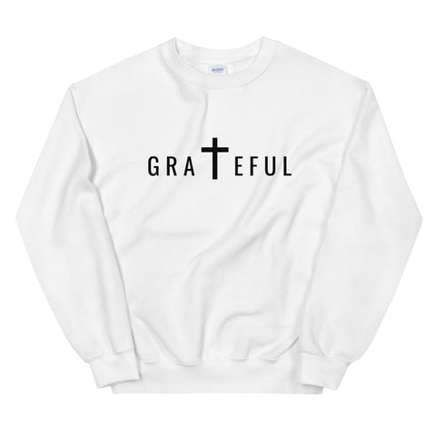 Grateful Sweatshirt (White) | Unisex