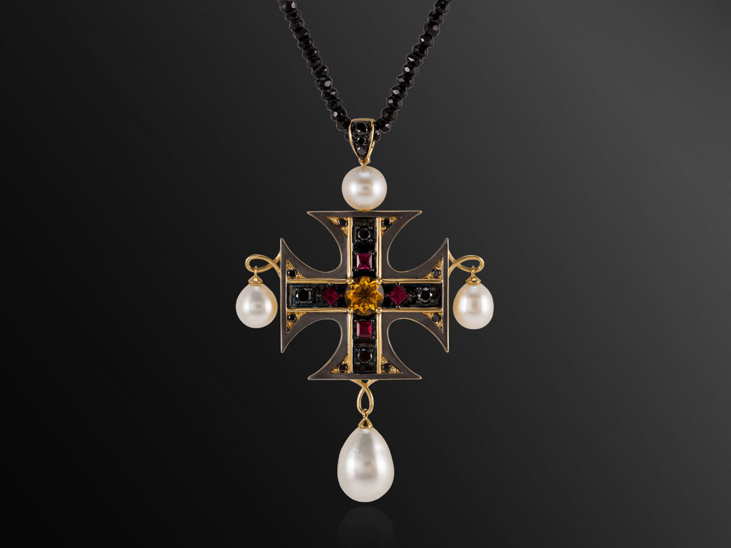 La Croce - Maltese Cross Pendant
