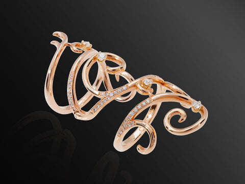 Nisaa Rose Gold Ring