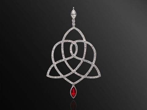 Queen Boudicca Diamond Pendant