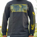 Load image into Gallery viewer, Black Gold of The Sun Long Sleeve Tee