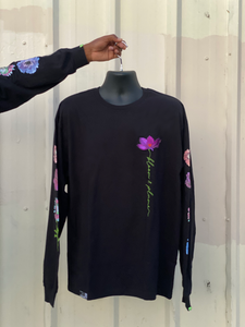 Flower Patch Long Sleeve Tee