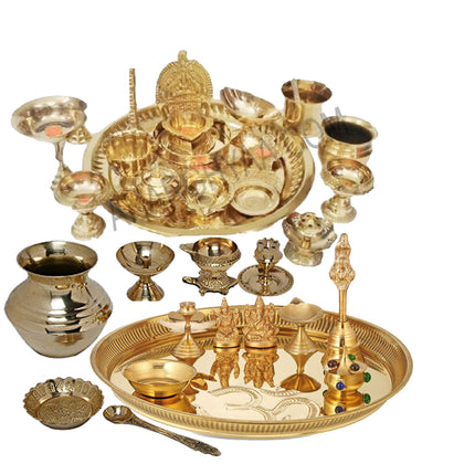 Buy all kinds of brass puja items and accessories at Anarghyaa.com