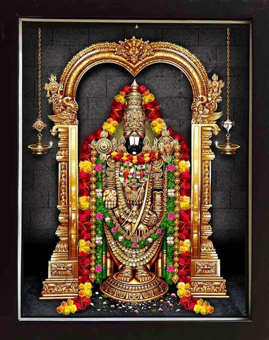 Tirupathi Balaji Photo, Anarghyaa.com, Lord Balaji Photo, Goddess Photo for Puja