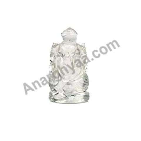 Clear Quartz Crystal Ganesha