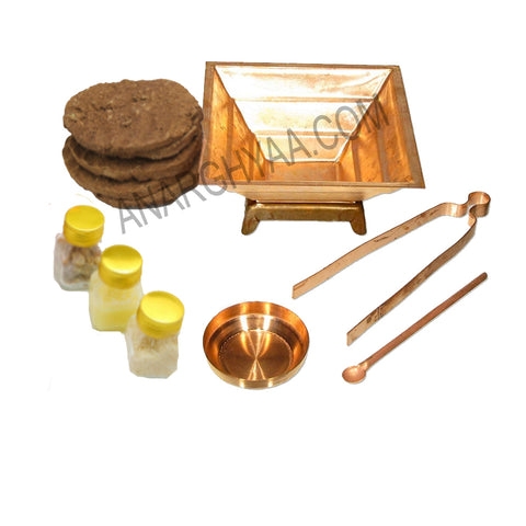 Agnihotra Kit, Online store to buy Agnihotra Kit, Anarghyaa.com, Online Puja Stores