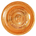 Buy Copper Puja plate online at Anarghyaa.com, Copper plate