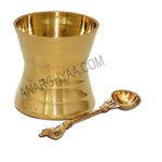 Brass Panchapatra udrini, anarghyaa.com, brass puja items