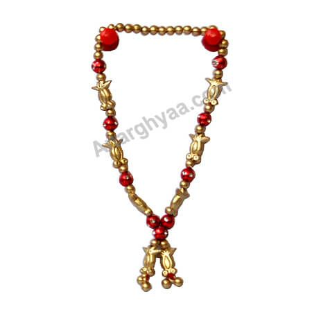 Decorative mala, Deity Mala, deity accessoreis, Anarghyaa.com, Puja accessories, puja items online, homa dravyam, puja dravyam