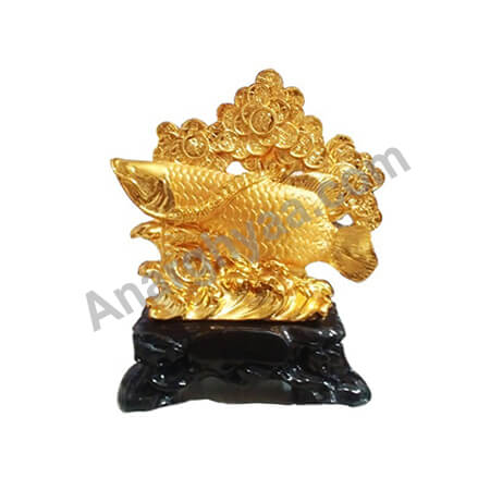 Feng Shui Fish with coin tree, Anarghyaa.com, Fengshui items online