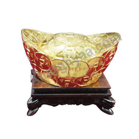 Feng Shui ingot with stand, Anarghyaa.com, Fengshui items online