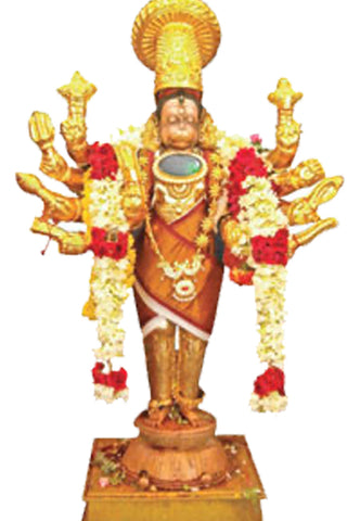 Ananthamangalam Hanuman Temple | Temple Prasadam| Book online to perform Puja in Temples | Anarghyaa.com