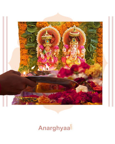 Book online for Kannada Purohit / Kannada Vedic Priest  to perform Ayudha Puja at Anarghyaa.com