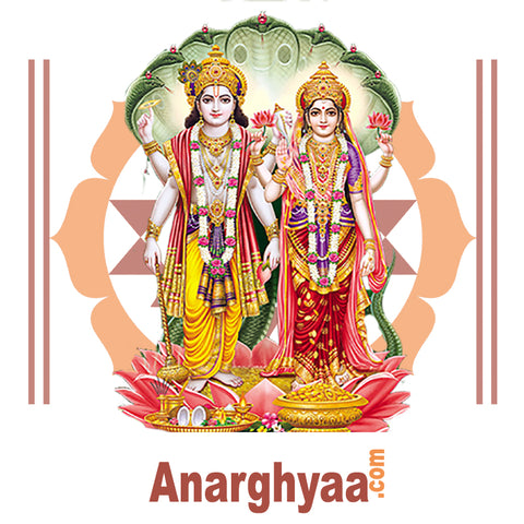 Book online for Kannada Purohit / Kannada Vedic Priest to perform Lakshmi Narayana Pooja at anarghyaa.com